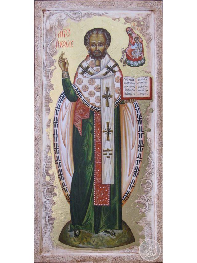 Ікона архієпископа Мірлікійського Миколая