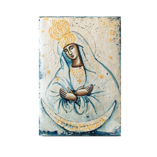 Дорожня ікона Богородиці Остробрамська
