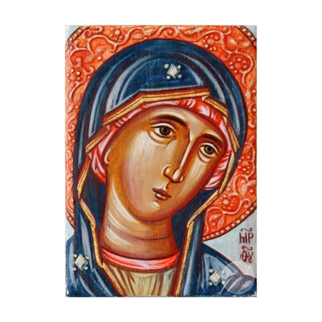 Дорожня ікона Пресвята БогородицяОдигітрія