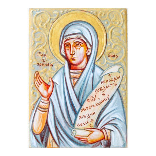 Дорожня ікона Святої праведної Анна