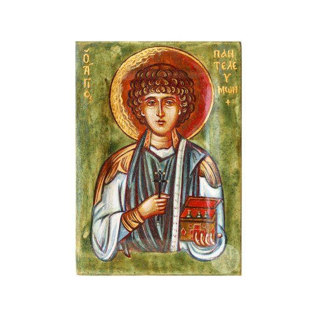 Дорожня ікона Святого Пантелеймона