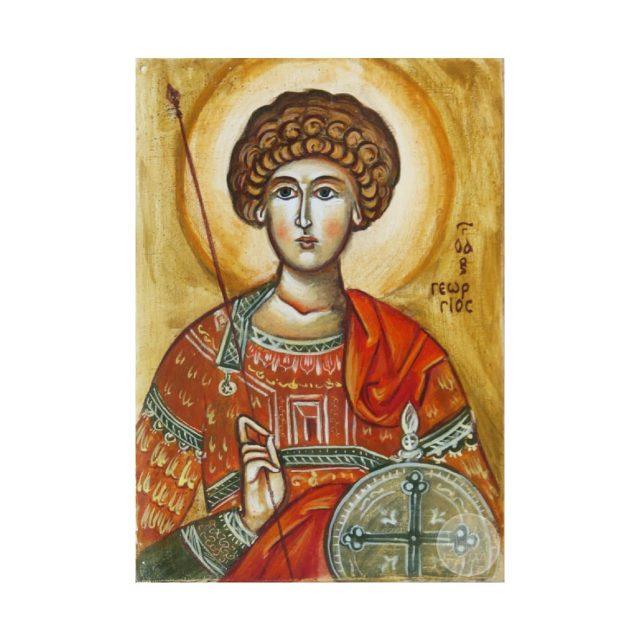 Дорожня ікона Святий великомученик Георгій Побідоносець