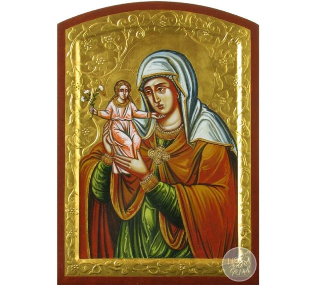 Свята праведна Анна з Богородицею